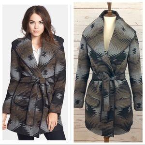 DV Dolce Vita Southwestern Wrap Coat